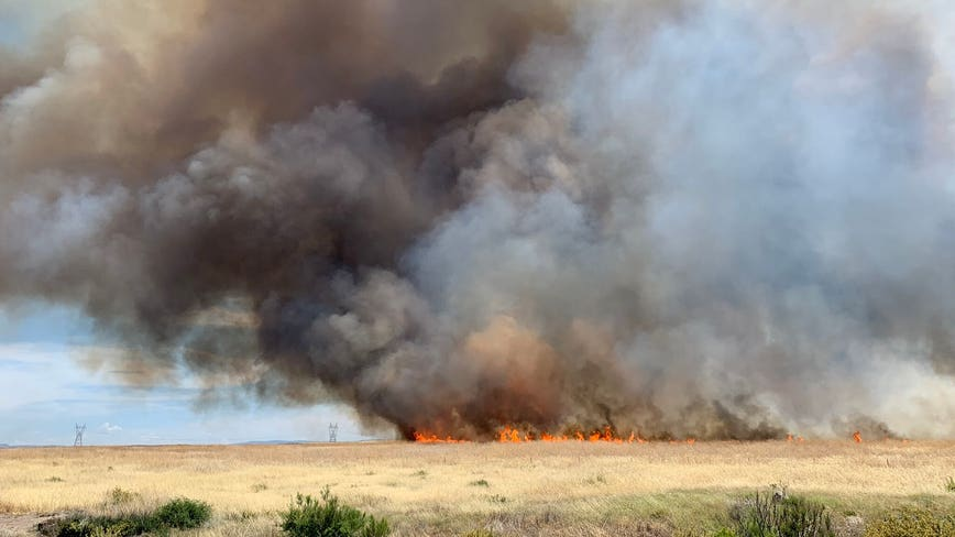 Fire officials: Sunset Fire burns estimated 4,000 acres of land