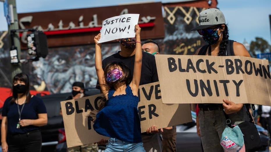 POLITICS-RACISM-JUSTICE-US-demonstration-police-minorities