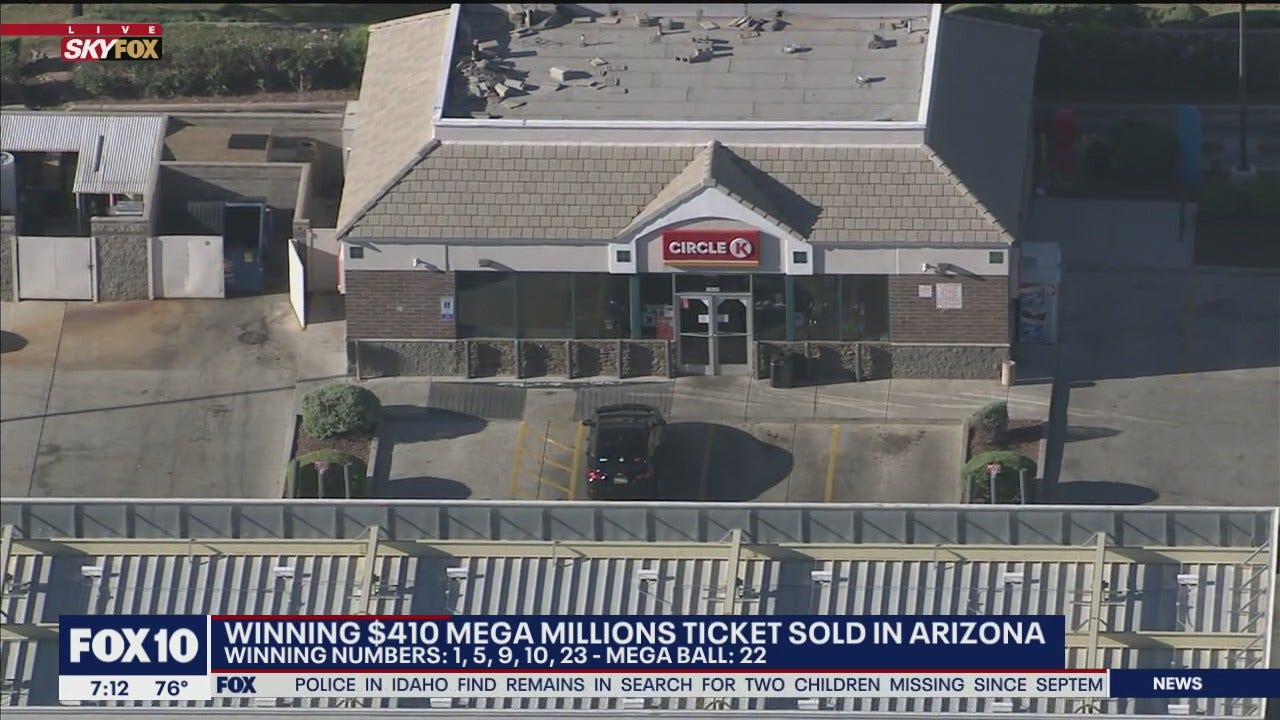 Winning Ticket For Mega Millions 410m Jackpot Sold In Arizona