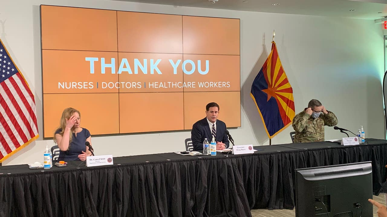 Gov. Ducey orders closure of bars, gyms, movie...