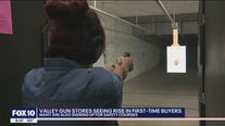 Valley guns tores seeing more first-time buyers