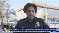 Phoenix Police Chief Jeri Williams responds to George Floyd protests