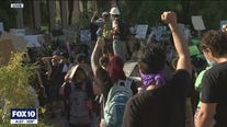 Protesters gather as Phoenix City Council meets over municipal budget