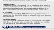 Arizona Democrats seek police reform, offer suggestions