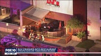 Police: 2 people seriously injured after car plows into Scottsdale restaurant