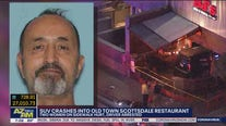 Police: 2 women seriously injured after SUV plows into Scottsdale restaurant, driver arrested