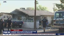 Firefighters rescue 2 dogs from south Phoenix house fire