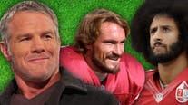 Brett Favre says Colin Kaepernick will be recognized a 'hero' like Pat Tillman