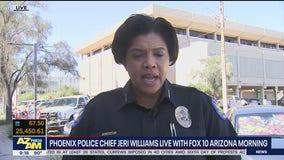 Phoenix Police Chief Jeri Williams responds to George Floyd protests