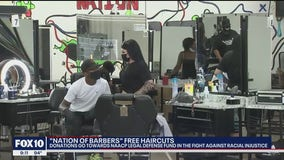 Barbers from Phoenix and Tucson come together to raise funds for NAACP legal defense