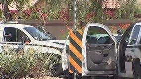Police: Officer, suspect taken to hospital following crash along Glendale Avenue