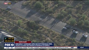 Scottsdale Road closed following fatal crash