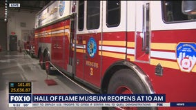 Hall of Flame Museum reopens in Phoenix