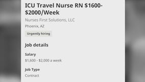 ICU nurses from around the nation to care for COVID-19 patients in Arizona as cases rise