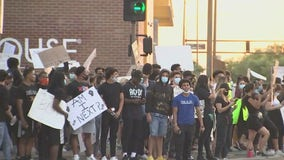 Phoenix protests end peacefully before curfew starts