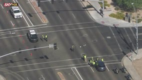 Chandler intersection closed after car fatally hit pedestrian