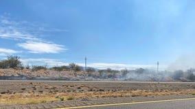 Tucson firefighters responding to brush fire near I-10