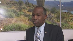 HUD Secretary Dr. Ben Carson tours Opportunity Zone in Phoenix, talks about response to COVID-19