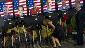 Gov. Ducey orders flags lowered to half-staff in honor of Granite Mountain Hotshots