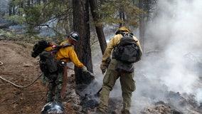 More than 100 Arizona inmates helping fight Bighorn fire, Bush Fire