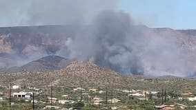 Central Fire contained, reached almost 5,000 acres burned off the I-17