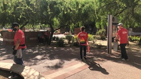 State Farm employees volunteer to clean up Downtown Phoenix after protests