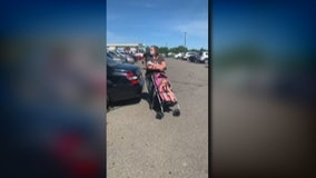 Video shows woman standing behind Black mother's car, refusing to let her leave Kroger in Livonia