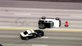 Jeep driver leads police on chase on South Florida highway; ends in rollover crash