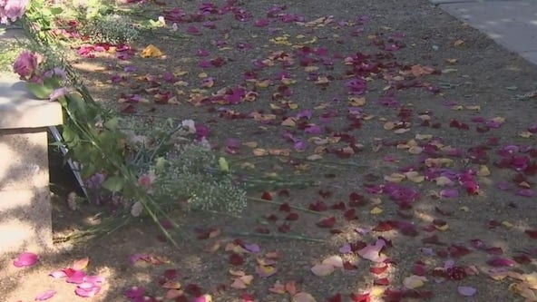 Arizona florist creates colorful display to honor George Floyd