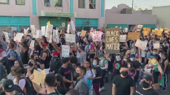Protesters demand Phoenix Police defunding; city council adjourns with no action