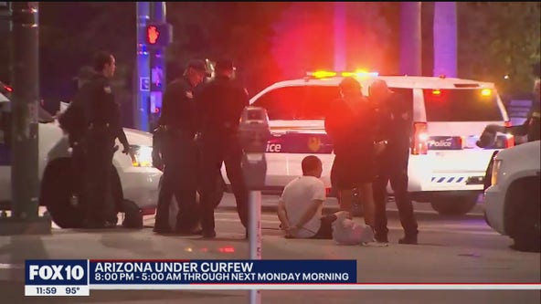 PD: More than 200 arrested in connection to George Floyd protests in Downtown Phoenix