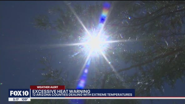 Parts of Arizona dealing with extreme temperatures