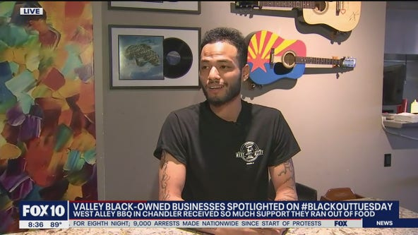 Chandler BBQ restaurant runs out of food after being overwhelmed with support on #BlackOutTuesday