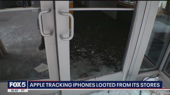 Apple tracking looted iPhones