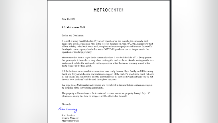 Sources Metrocenter Mall Closing June 30 After 47 Years Of Operation
