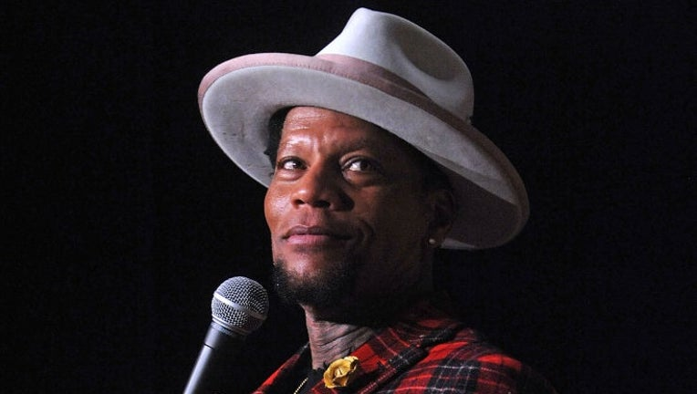 D.L. Hughley Performs At Stress Factory Comedy Club