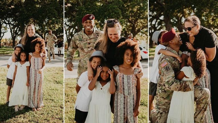 macdill soldier family photobomb wtvt