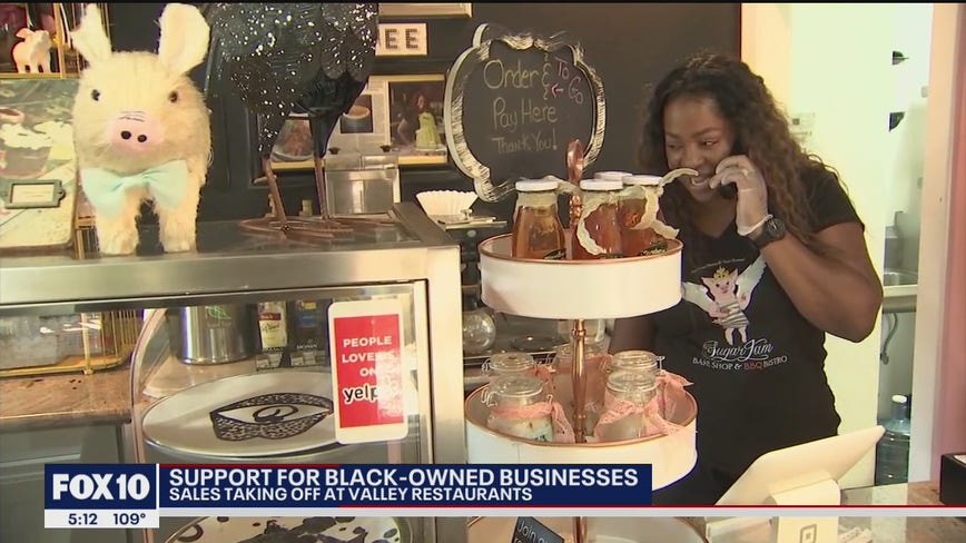 Arizona community comes out in droves to support black-owned businesses