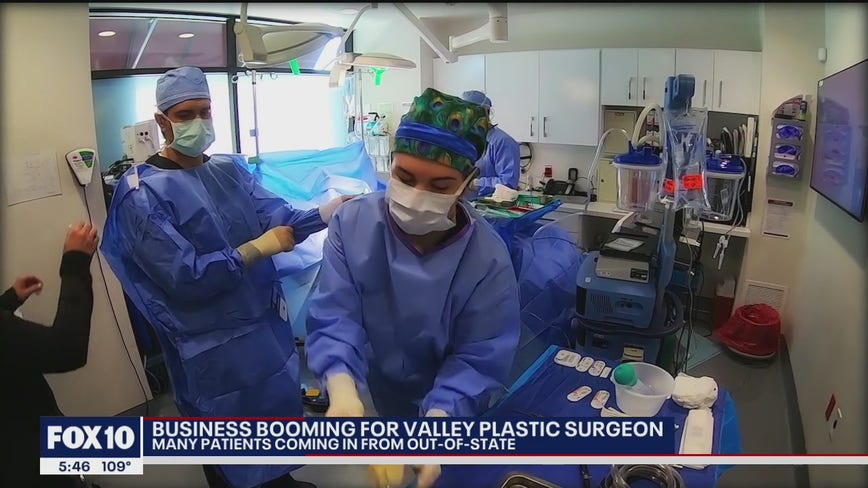 Business booming for Valley plastic surgeon