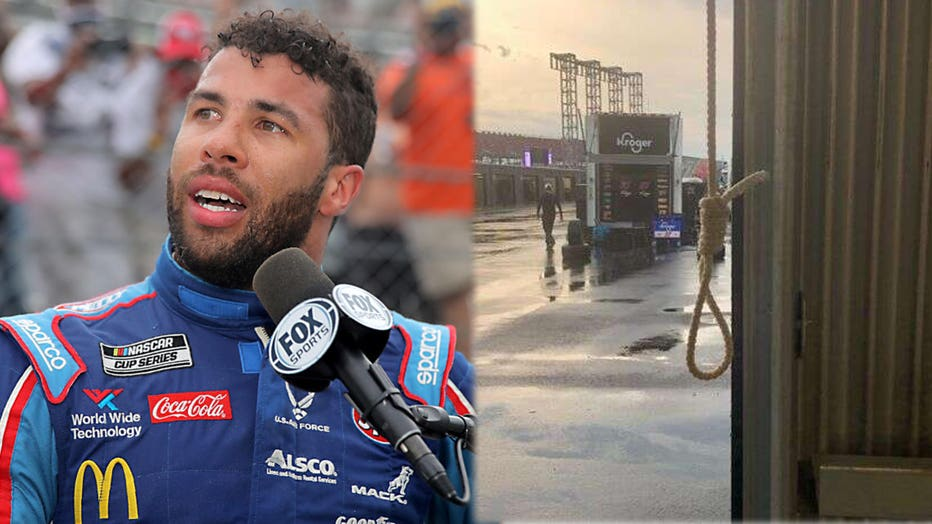 Bubba Wallace and Nascar image