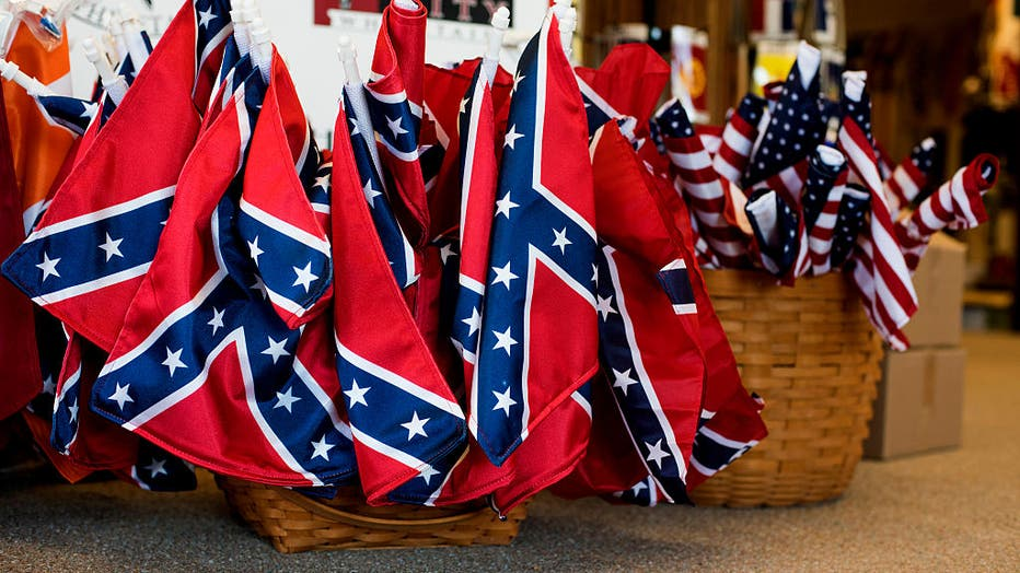 Alabama Company Manufacturer Makes Confederate Flag