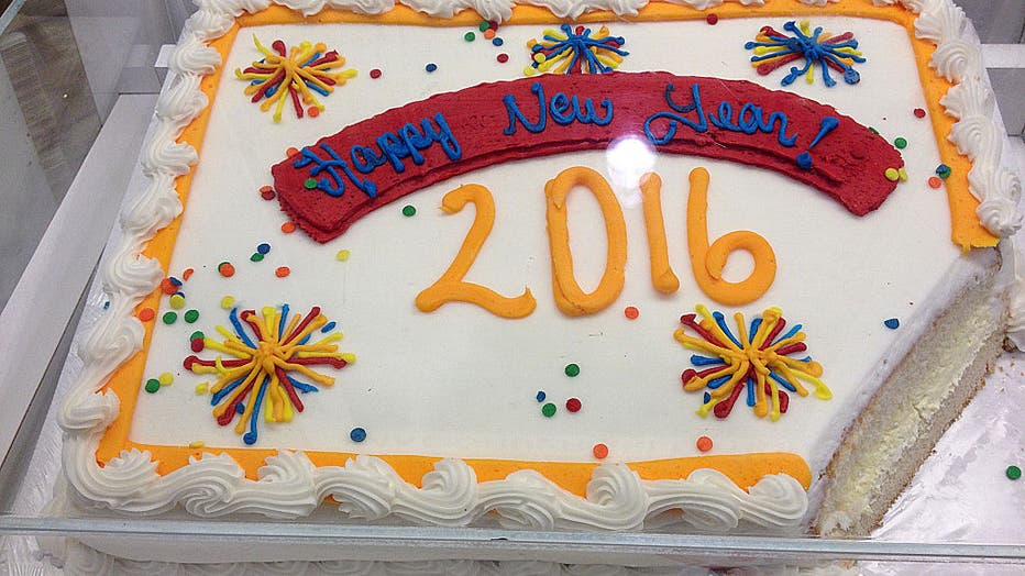 New year cake 2016 Clarkston, Washingston, USA