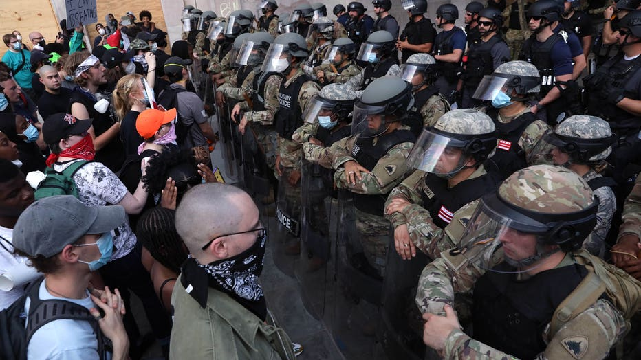 e6c69465-Protesters Demonstrate In D.C. Against Death Of George Floyd By Police Officer In Minneapolis