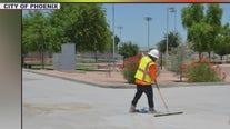 City of Phoenix launches cool pavement pilot program
