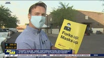 City of Tempe handing out free face masks