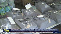 Children's Cancer Network holds school supply distribution in Phoenix