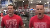 Man yells 'I feel threatened!' after being confronted in Costco for not wearing a face mask