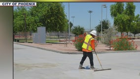 City of Phoenix launches cool pavement pilot program