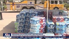 Arizona Coyotes collecting water donations to benefit Phoenix Rescue Mission