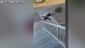 Video shows Mesa police officers shooting man with bean bag rounds in front of children while serving warrant